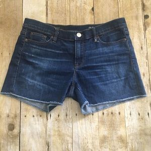J. crew Indigo denim shorts 30